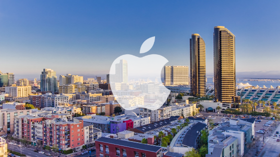 Apple opens San Diego HQ