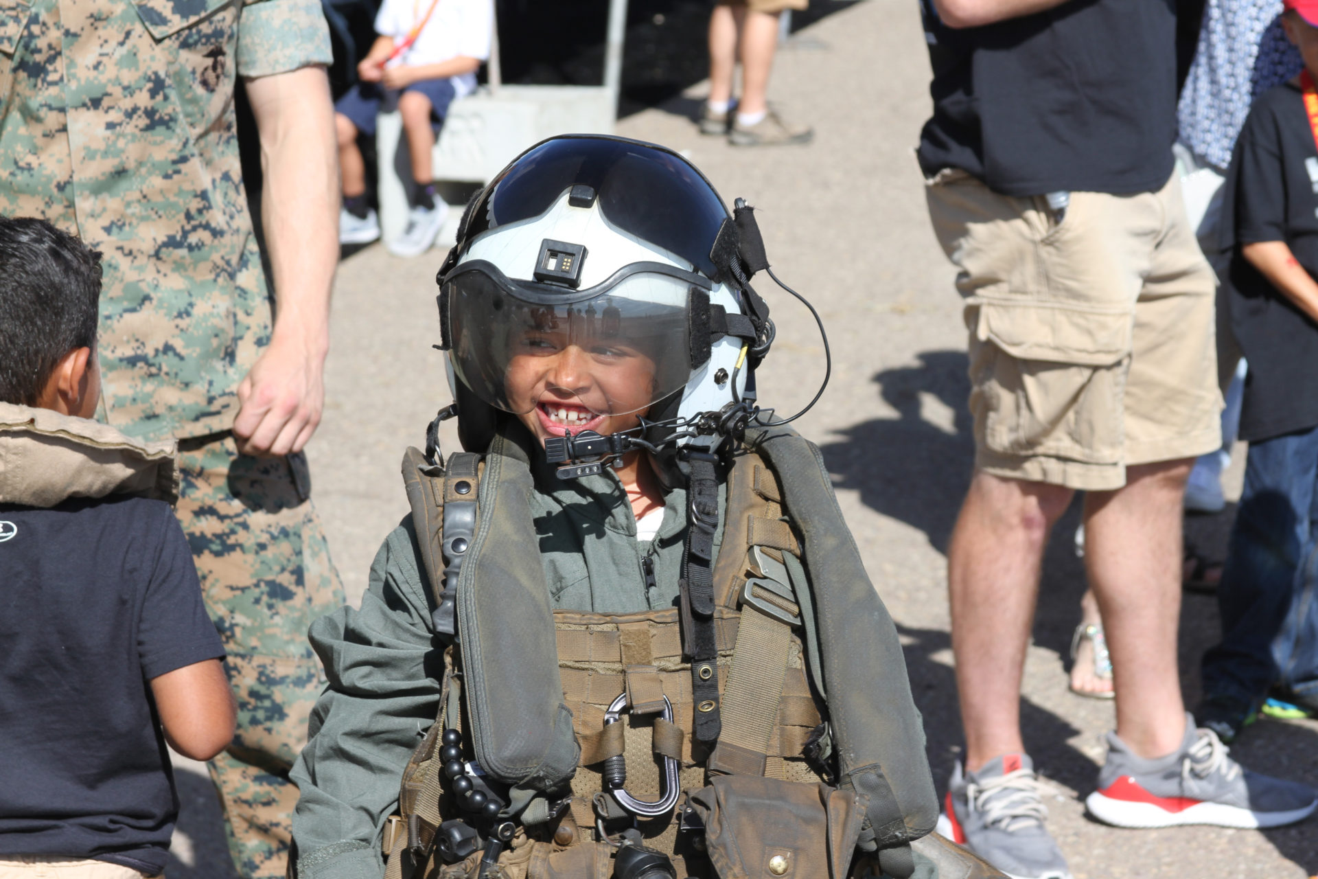 MCAS A Salute To Soldiers: Mira Mesa Air Show